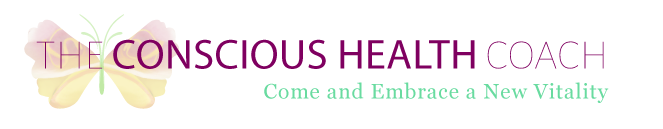 The Conscious Health Coach logo - ``Come and Embrace a New Vitality``